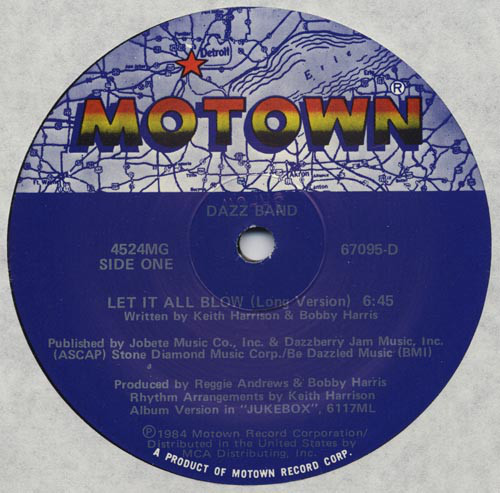 Dazz Band – Let It All Blow