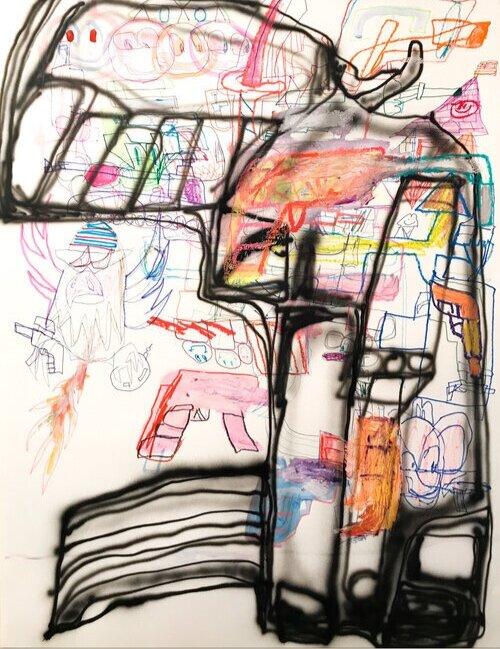 Erik Foss Gun Drawing 2019