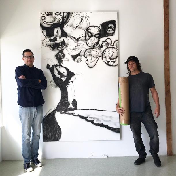 Erik Foss With Norman Reedus 2020