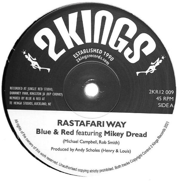 Blue & Red : Rastafari Way