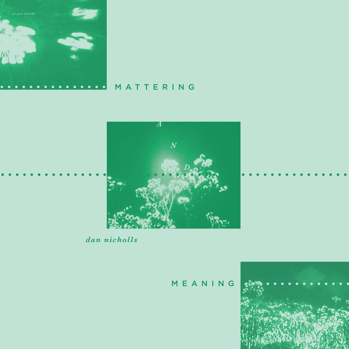 Dan Nicholls : Mattering and Meaning