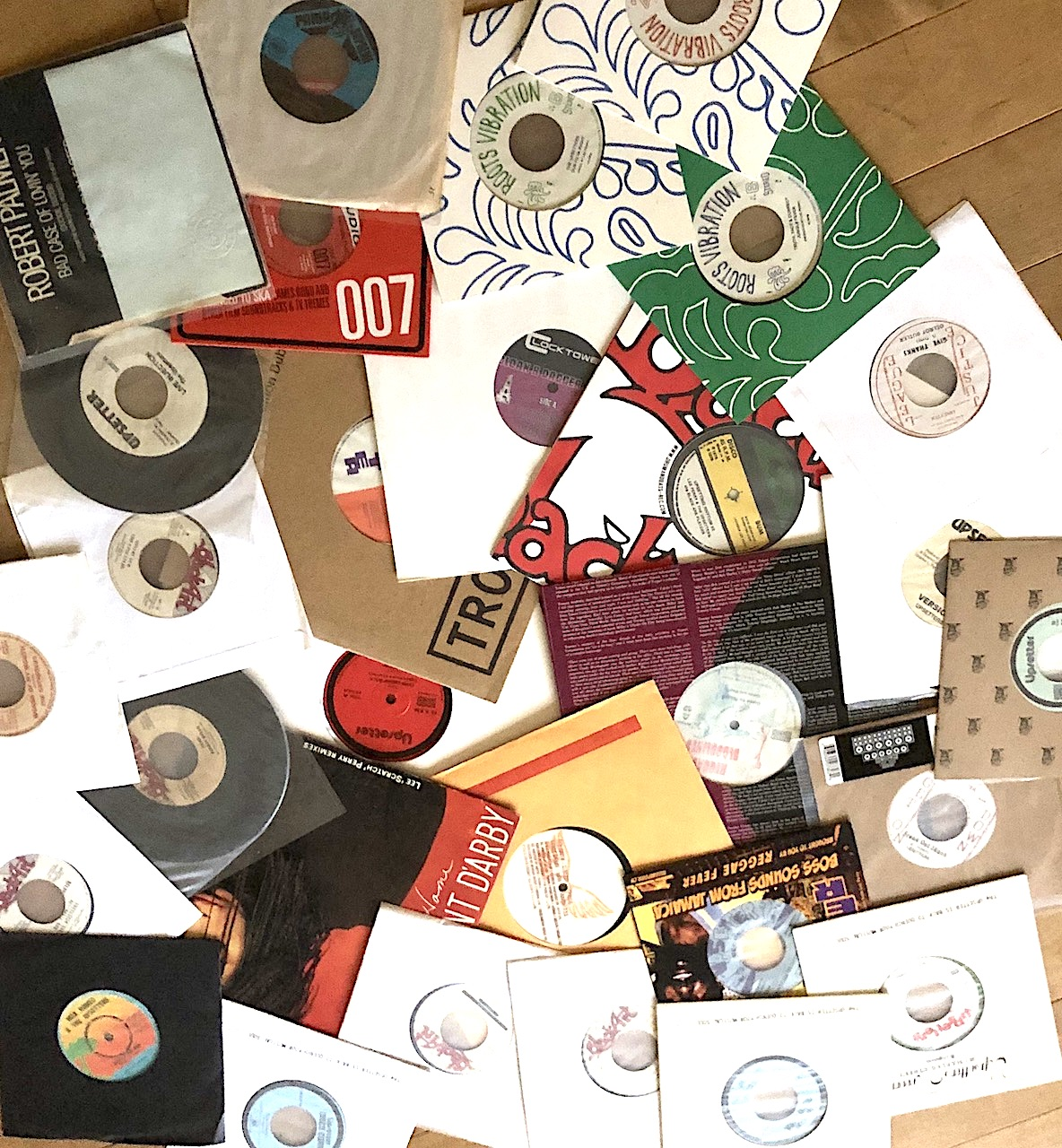 Lee Perry 45s