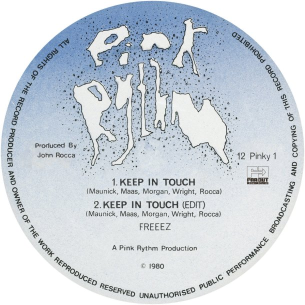 Freeez : Keep In Touch